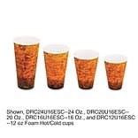 DART CONTAINER CORP Fusion Hot Coffee Cups, 20 oz.
