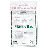 PM COMPANY Securit Money Bags, Tamper Evident, 50/Pack