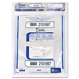 PM COMPANY Triple Protection Tamper-Evident Deposit Bags, 100/Pack
