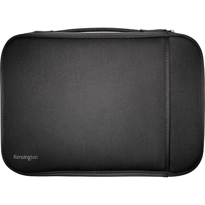 Kensington Technology Group® Black Fabric Carrying Case Sleeve For 11 Notebook