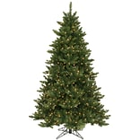 Vickerman Camdon Fir 5.5 Green Artificial Christmas Tree w/ 300 LED Warm White Lights w/ Stand