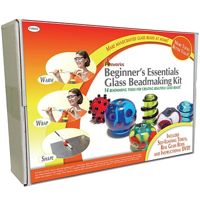 Diamond Tech Crafts Beginners Essentials Glass Beadmaking Kit