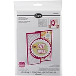 Sizzix® Circle #4 Flip-Its Card Framelits Die Set