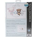 Dimensions Little One Birth Record Counted Cross Stitch Kit, 10 x 8