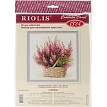 Riolis Scottish Heather Counted Cross Stitch Kit, 9 3/4 x 9 3/4