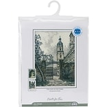 RTO The Gate In The Town Counted Cross Stitch Kit, 7 1/2 x 10 1/2