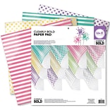 We R Memory Keepers™ Clearly Bold™ Acetate Pad, 12 x 12, 12 Sheets