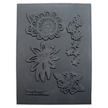 Great Create Drama Blooms Texture Stamp, 5 1/2 x 4 1/2