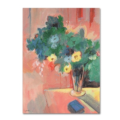 Trademark Fine Art SG5710-C1824GG Bouquet for Bonnard by Sheila Golden 24 x 18 Frameless Art
