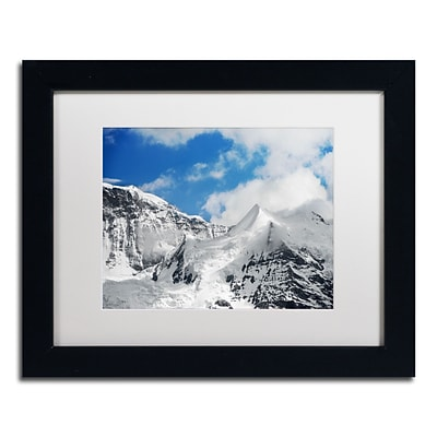 Trademark Fine Art PSL0304-B1114MF Ethereal by Philippe Sainte-Laudy 11 x 14 Framed Art, WHT MTD