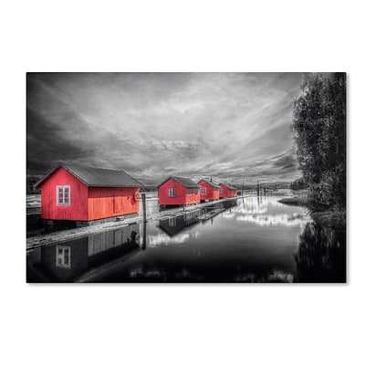 Trademark Fine Art EB0053-C3047GG Timber Booms by Erik Brede 30 x 47 Frameless Art