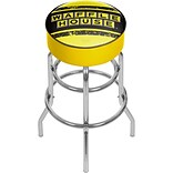 Trademark Global Waffle House AR1000-WAFF-V Padded Swivel Bar Stool, Vintage