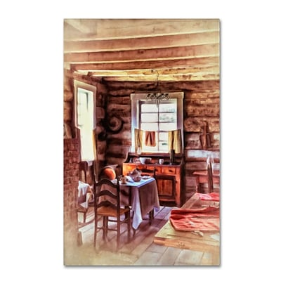 Trademark Fine Art LBR0289-C3047GG The Heart of the Home by Lois Bryan 47 x 30 Frameless Art