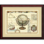 Amanti Art Nautical Map II Framed Art Print