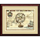 Amanti Art Nautical Map I Framed Art Print