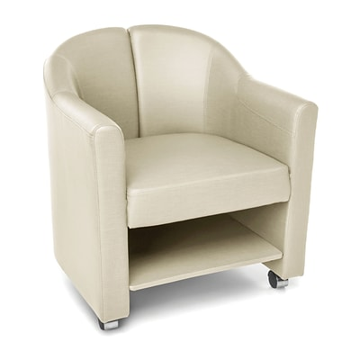 OFM Contour Mobile Club Chair, Linen