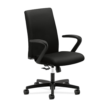 HON® Ignition® Mesh Mid-Back Office/Computer Chair, Black