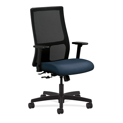 HON® Ignition® Mesh Mid-Back Office/Computer Chair, Blue