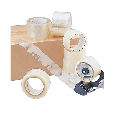 Acrylic Carton Sealing Pressure Sensitive Tape, 2 x 110 yds, Clear ICE (128-0075-ICE)