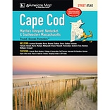 Universal Map Cape Cod Marthas Vineyard, Nantucket and Southeastern Massachusetts Atlas