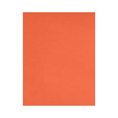 Lux Papers 8.5 x 11 inch Bright Orange 50/Pack