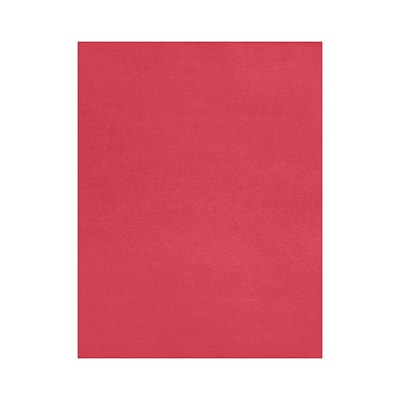 Lux Paper 8.5 x 11 inch 80 lbs. Holiday Red 500/Pack