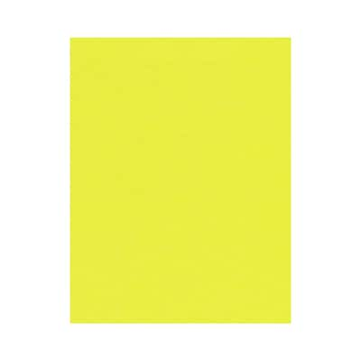 Lux Cardstock 8.5 x 11 inch, Electric Yellow 500/Pack