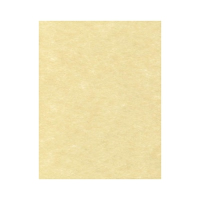 Lux Papers 8.5 x 11 inch Gold Parchment 50/Pack