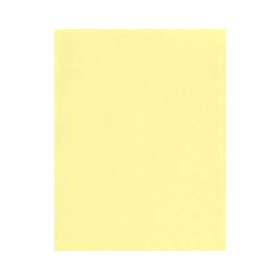 Lux Cardstock 8.5 x 11 inch Lemonade Yellow 50/Pack