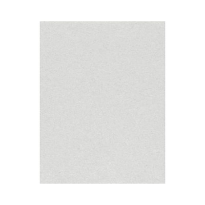 Lux Cardstock 8.5 x 11 inch Pastel Gray 1000/Pack