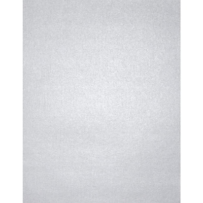 Lux Cardstock 8.5 x 11 inch, Silver Metallic 500/Pack