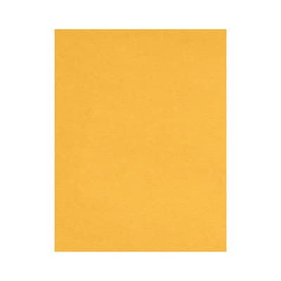 Lux Papers 8.5 x 11 inch Bright Gold 50/Pack