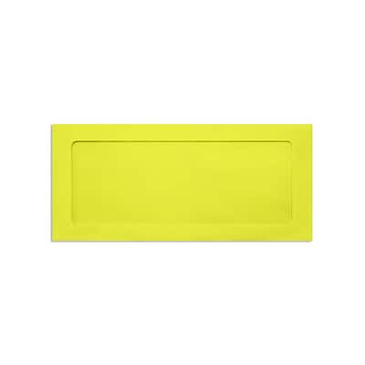 Lux Full Face #10 Window Envelopes, Citrus 4 1/8 x 9 1/2 inch 50/Pack