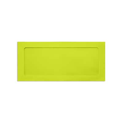 Lux Full Face #10 Window Envelopes, Wasab Green 4 1/8 x9 1/2 inch 50/Pack