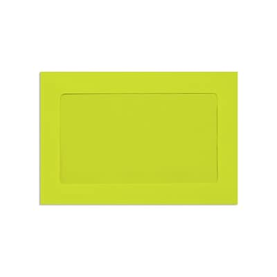 Lux Window Envelopes, Wasabi 6 x 9 inch 50/Pack