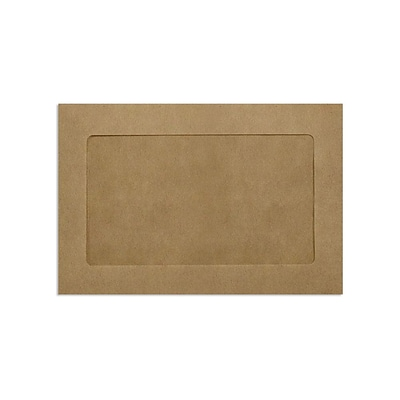 Lux Window Envelopes, Grocery Bag 6 x 9 inch 50/Pack