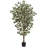 Nearly Natural 72 x 40 inch Ficus Tree
