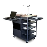 36 Cherry Laminate Multimedia Cart