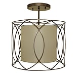 LightUpMyHome Pisces Wrought Iron Drum Chandelier