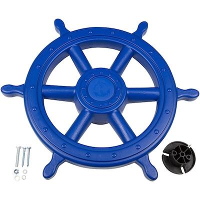 Swing Set Stuff Ships Wheel; Blue