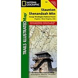 Universal Map Stanton/Shenandoah Valley, George Washington National Forest Map