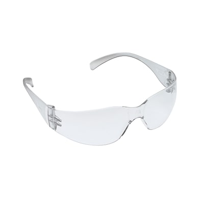 3M™ Virtua™ Safety Glasses, Clear Uncoated Lens, Clear Temple