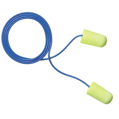 3M Occupational Health & Env Safety Neons Corded Earplugs, Large 200 Pairs