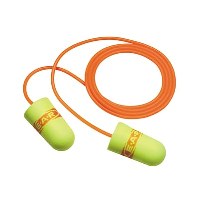 3M Occupational Health & Env Safety Earsoft Superfit Earplugs with Cord, 200/Box (3111254)