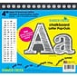 "Barker Creek 4"" White Chalkboard Pop-Outs & Poster Letters, 234 characters/Pack"