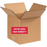 8(L) x 8(W) x 8(H) Shipping Boxes, 32 ECT, Brown, 25 /Bundle(888W5C)