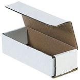 Brand M1433 Oyster White 3 x 14 Corrugated Mailers, 50/Bundle