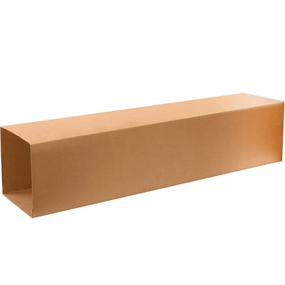 T121248INNER Brown 48 x 12 Kraft Corrugated Telescoping Inner Boxes, 15/Bundle