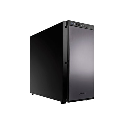 Antec® Performance One Series 9 Bays Mid-Tower Computer Case, Black