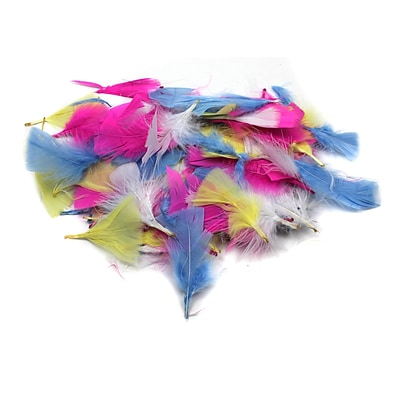 Charles Leonard Creative Arts™ Turkey Feathers; Spring Colors, 12/Pack
